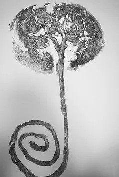 Placenta print tree of life placenta encapsulation Huntington Beach