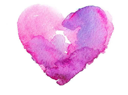 Hoag Newport Beach birth doula pink heart