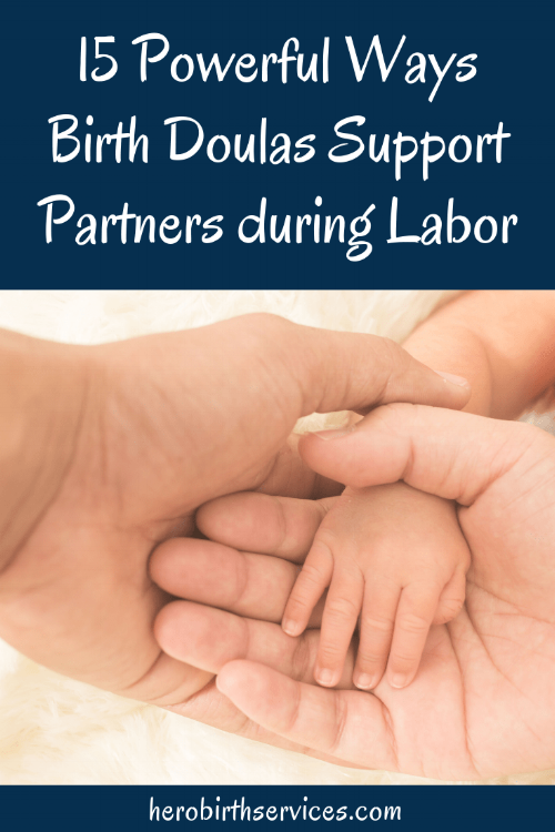 Mission Hospital doula ways birth doulas support dads and partners