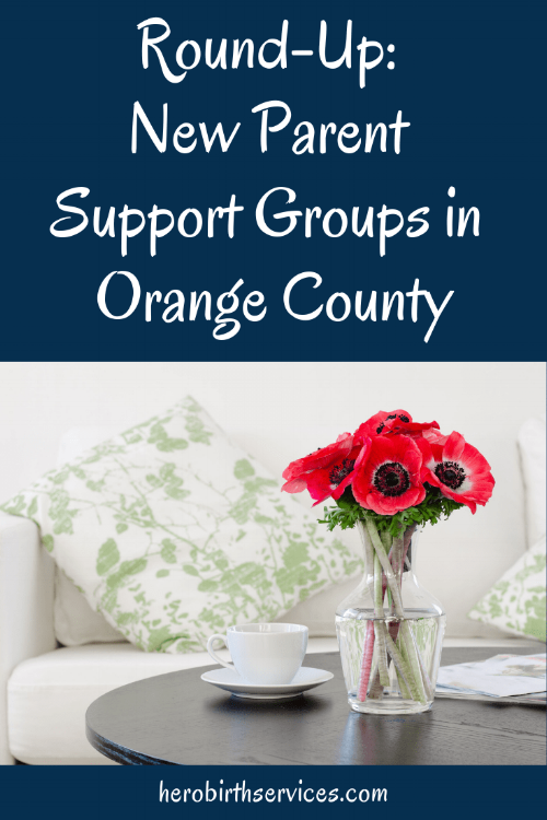 Support for new moms in Orange County