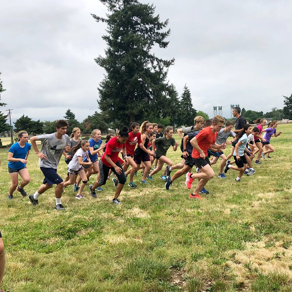 First week of Whisper practice was outstanding!  So many runners from throughout the Vancouver-metro area - what a delight!