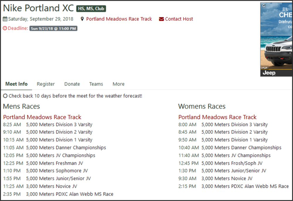 Nike Portland XC Schedule.png