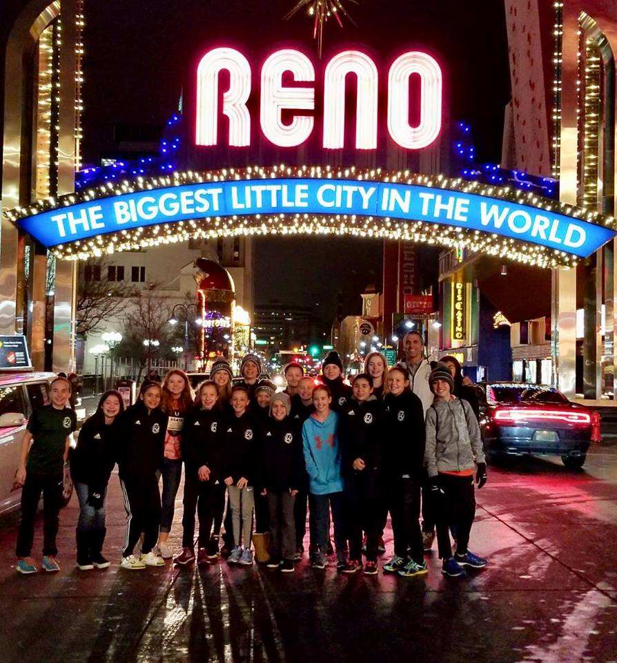 Just yesterday, or so it seems, we were running into the middle of the street in Reno, Nevada to take this photo.