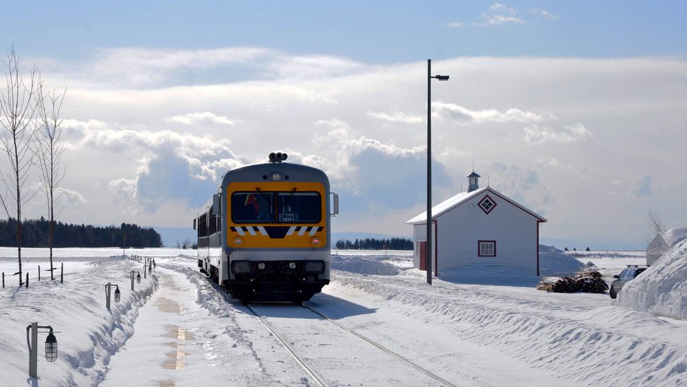 Polar Express on the way to LeMassif
