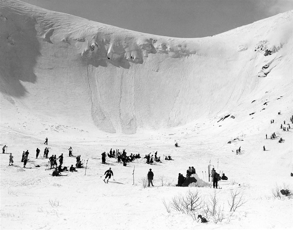 Tuckerman's Ravine, Mount Washington, NH the pinnacle of east coast steep skiing