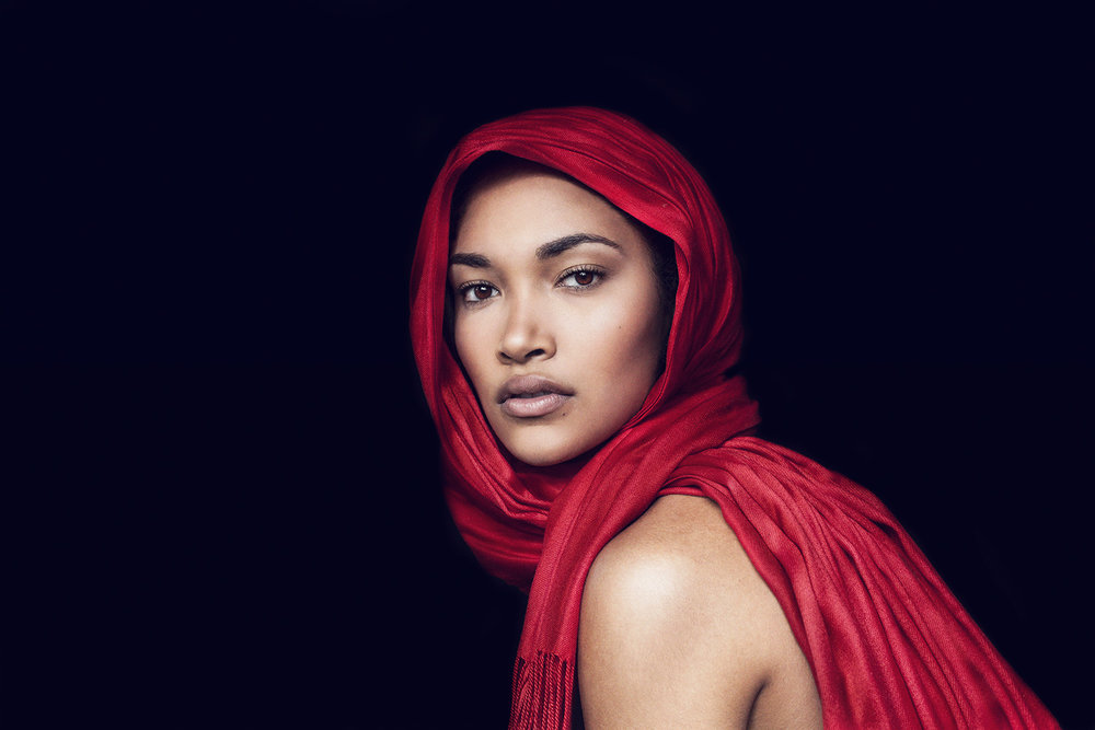 red-scarf-woman-portrait