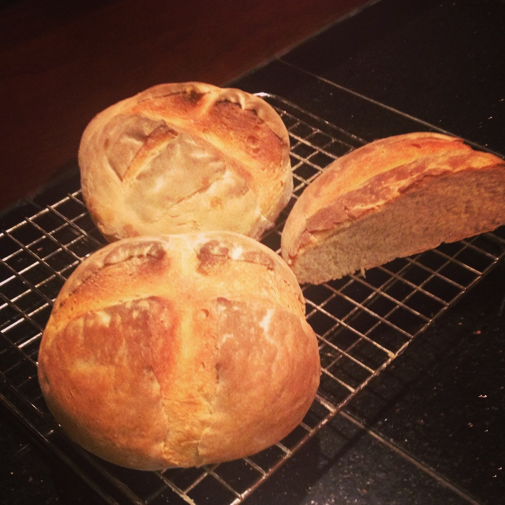Finished Artisan Bread!