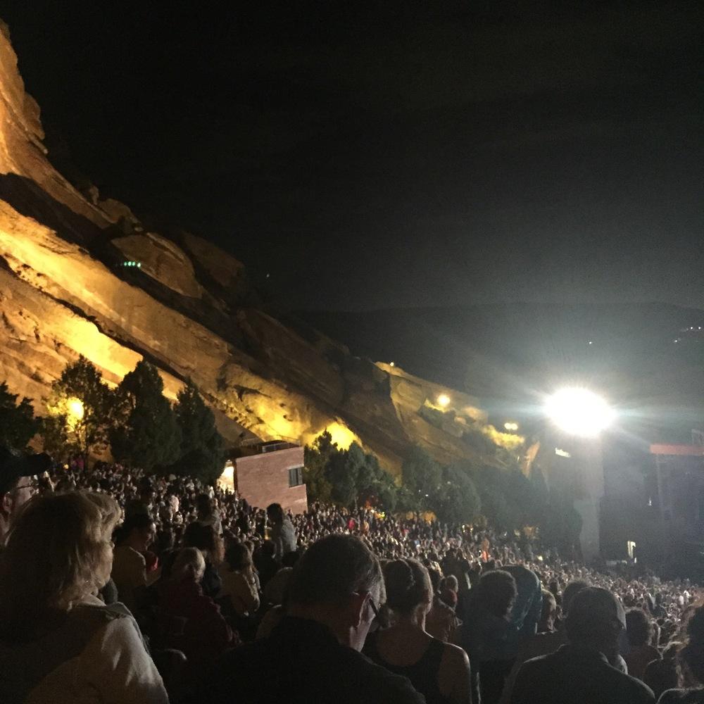 Red Rocks at Night 2