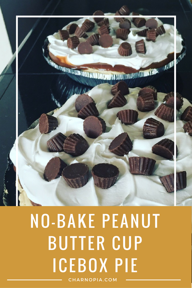 These No-Bake Peanut Butter Cup Icebox Pies are amazing. Your family will thank you for them.