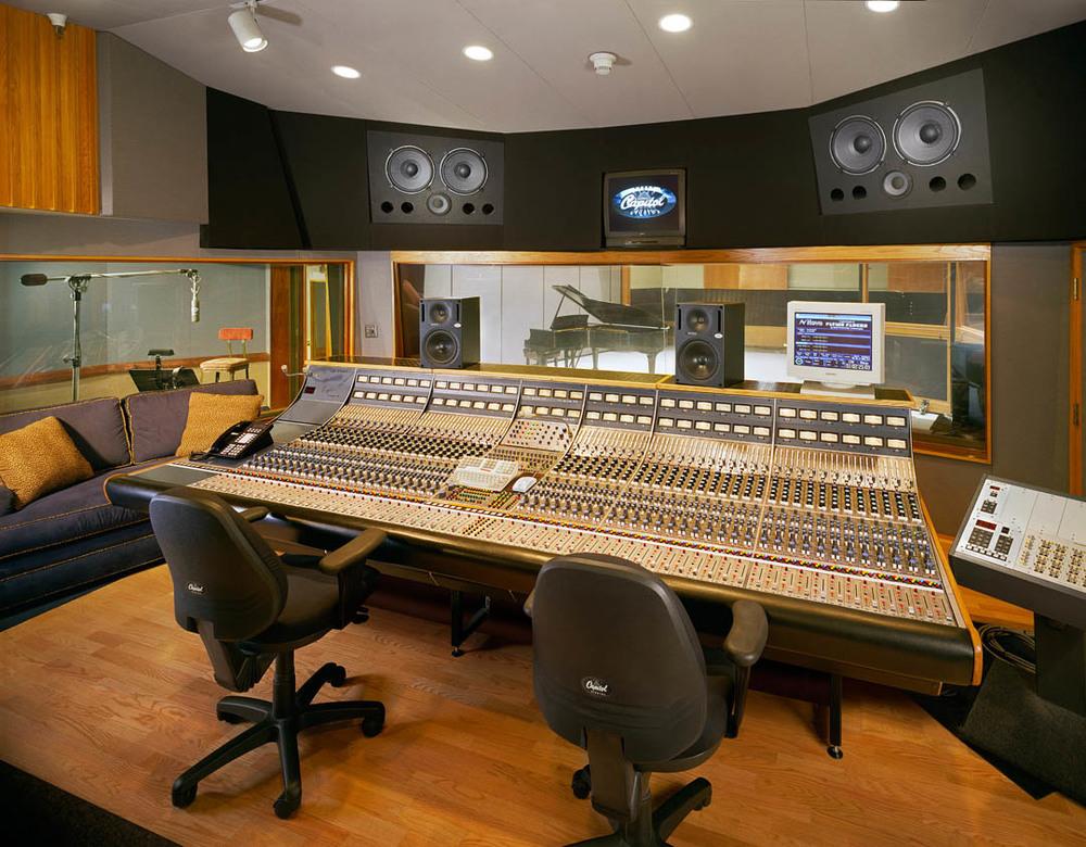 Capital Studio B w/ Neve Console