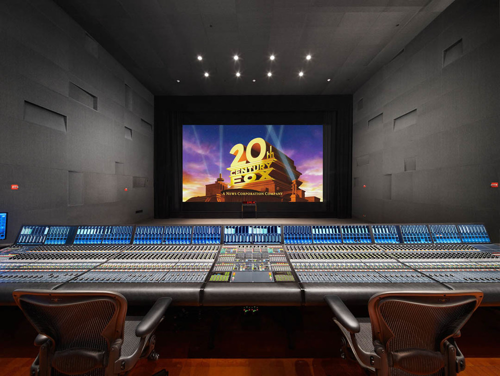 Fox Dubbing Stage w/ Neve Digital Console