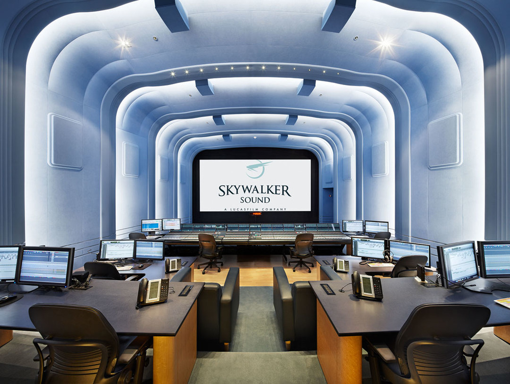 Skywalker Dubbing Stage, Skywalker Ranch, Ca.