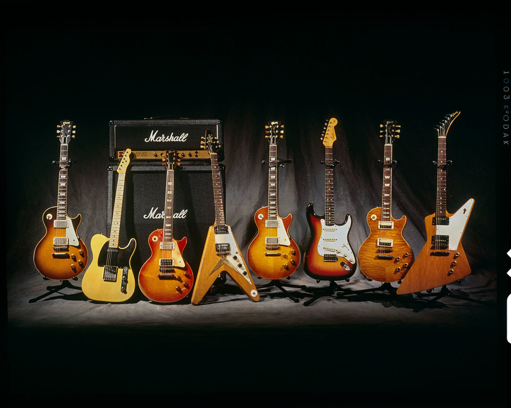 Slash's Guitars