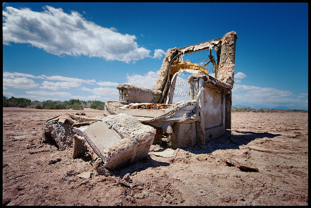 Lounge Chair, Bombay Beach, Salton Sea