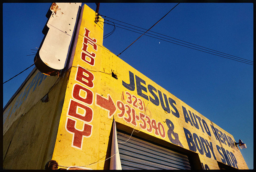 Jesus Auto Body, West Adams Street, L.A.
