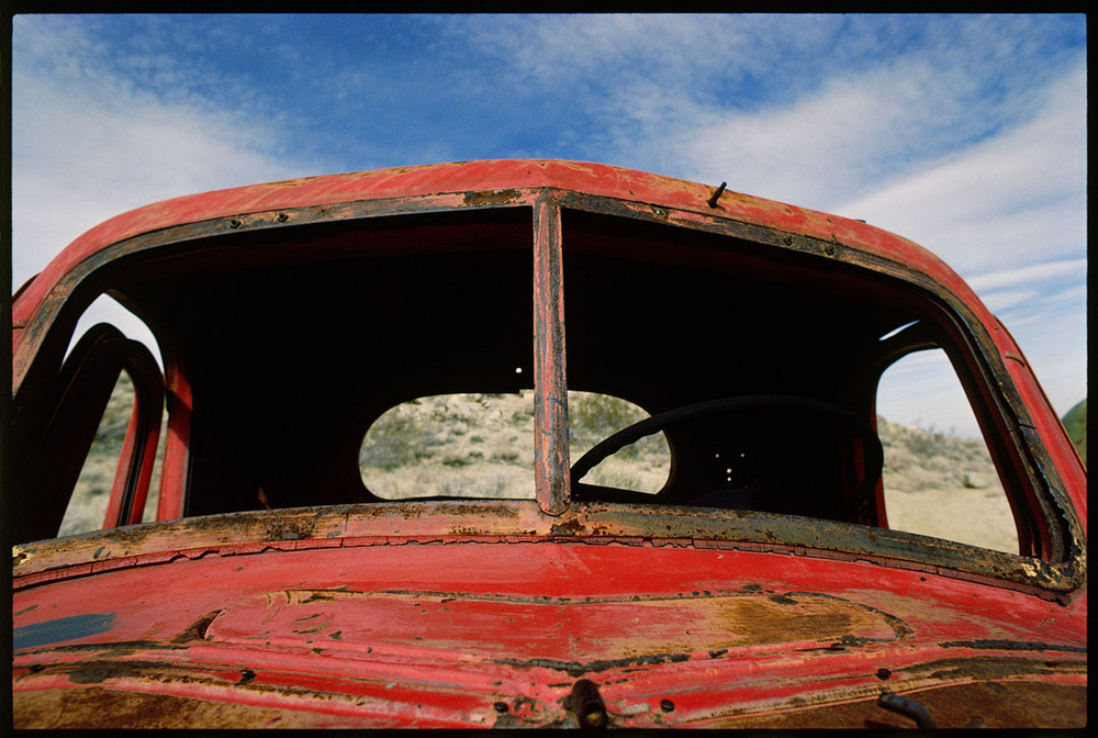 Old Truck, Red Mountain, Ca.
