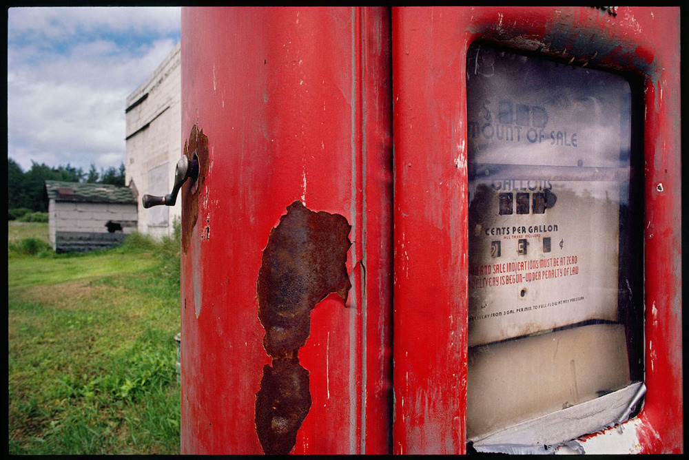 Gas Pump, Minnesota, 1986