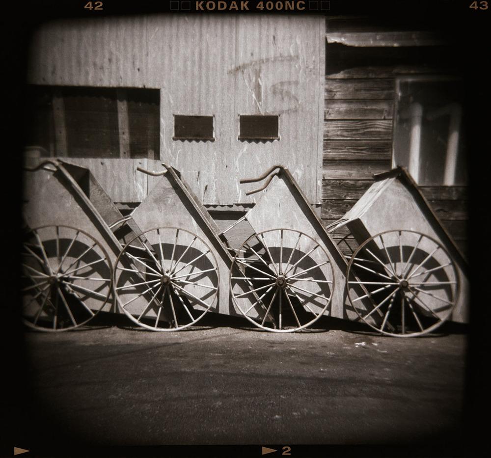 Carts, Fisherman's Wharf, Monterey, Ca.