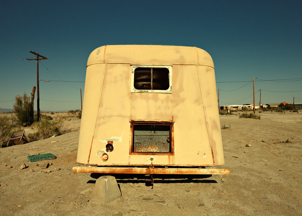 Trailer, Salton City, Salton Sea, Ca.