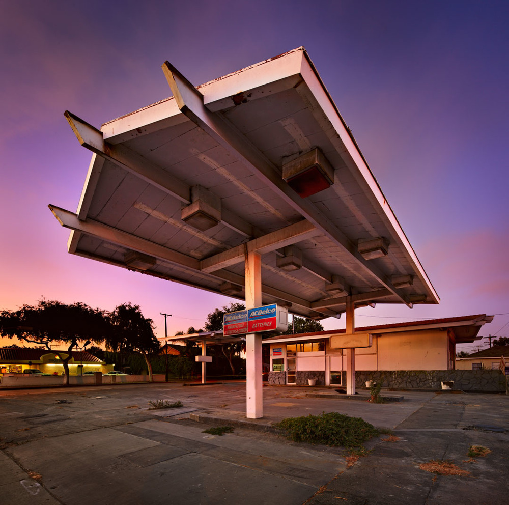 Abandoned Gas Station, Culver City, Ca.