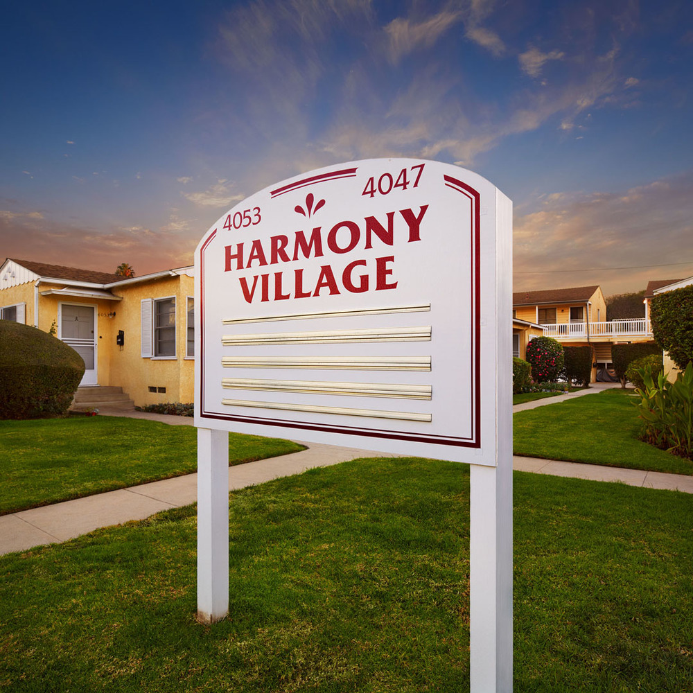 Harmony Village, Culver City, Ca.