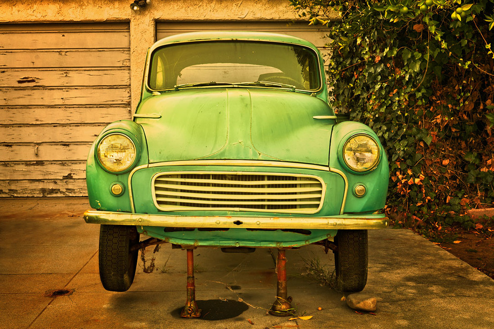 Morris Minor, Culver City, Ca.