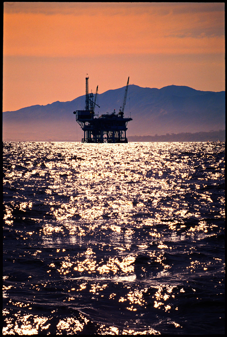 Oil Derrick, Santa Barbara Channel