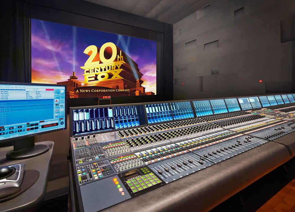 Fox Studios LA Dubbing Stage