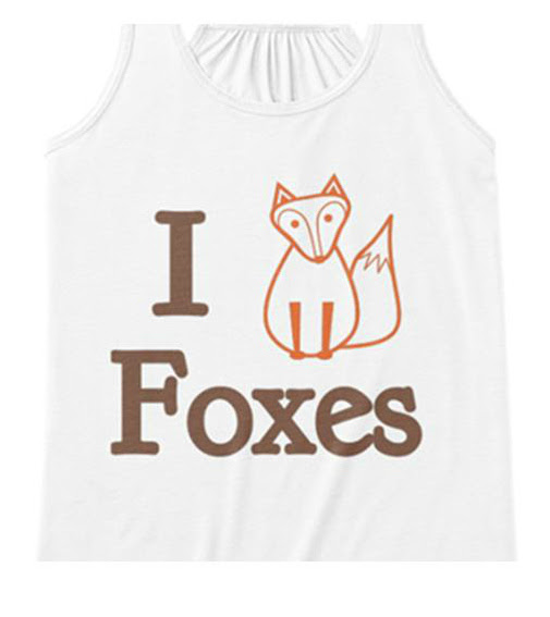 I heart foxes.