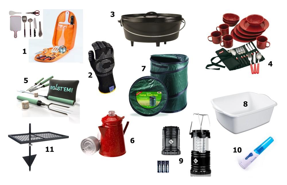 Camp Kitchen Supplies