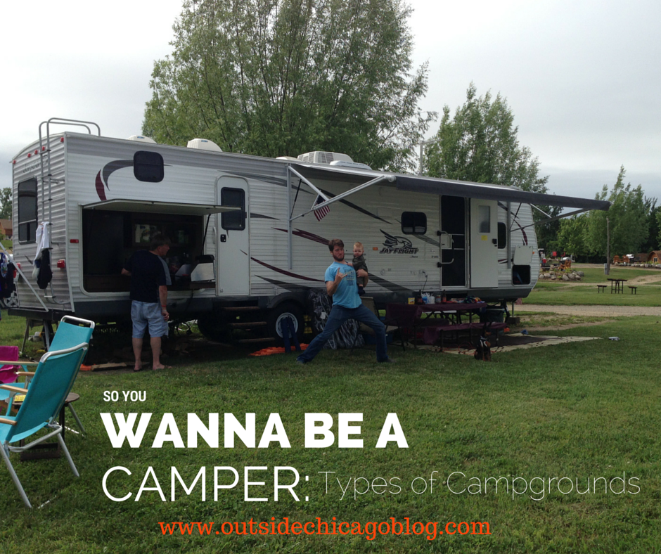 types of campgrounds