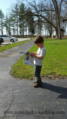 Checking out the map!