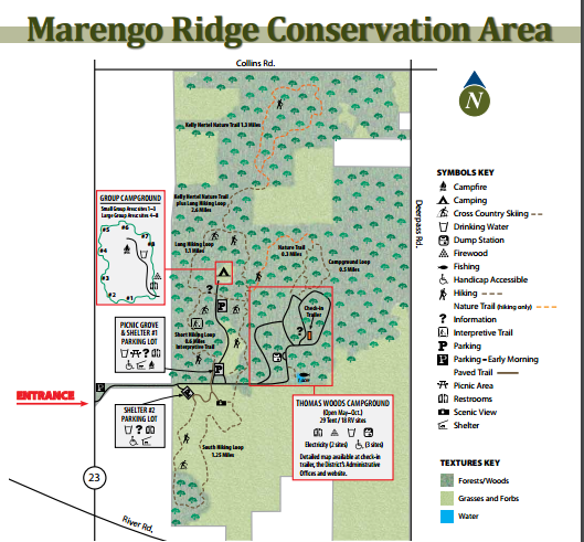 Click the map for an enlarged version from the MCCD.