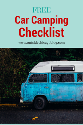 Camping - Don't forget a thing! This list covers it all with some extra space making it all yours!