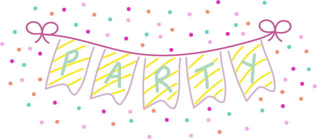 Party banner!