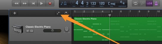 when you click the automation button a yellow line will appear on the track. Under the volume button a drop down menu will appear and you can choose what you want to automate.