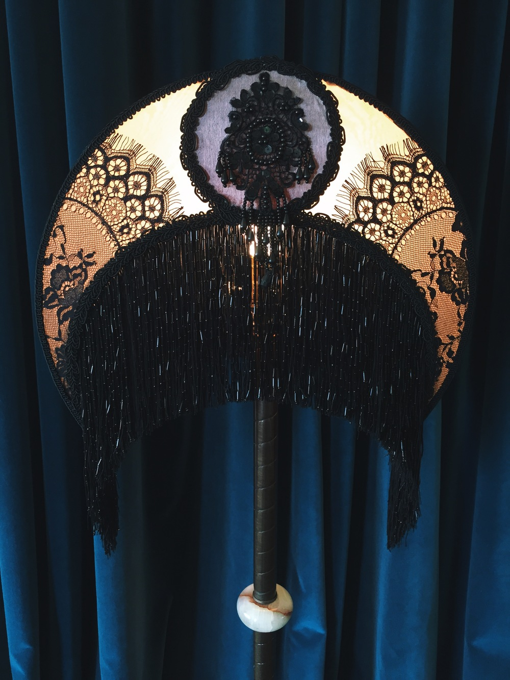 peacock victorian lampshade 3.JPG