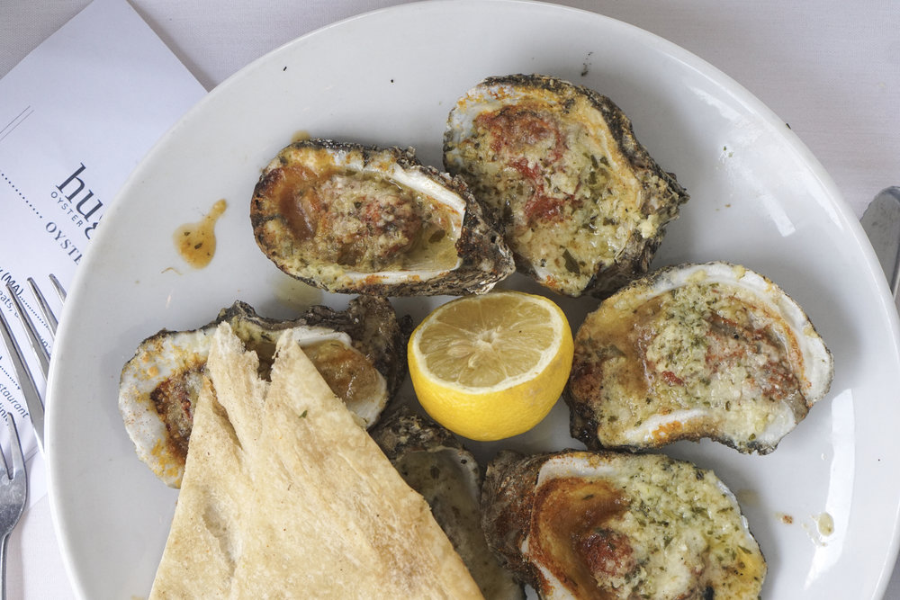 RC's Chargrilled Oysters