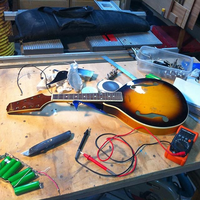 Electric Mandolin Conversion