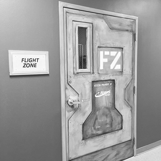 Door Detail - Flight Zone - Aerospace Museum of California