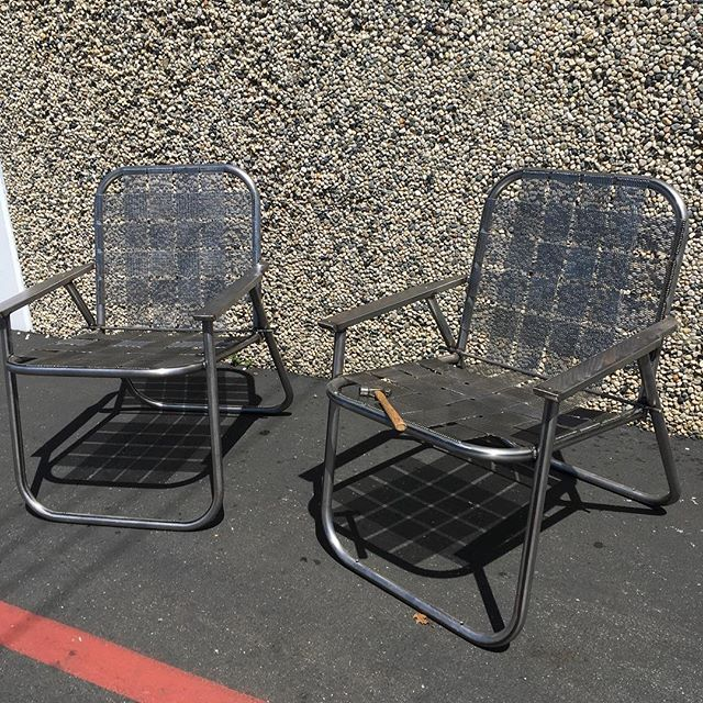 Oversized Folding Chairs - Hollywood Park - City of Sacramento