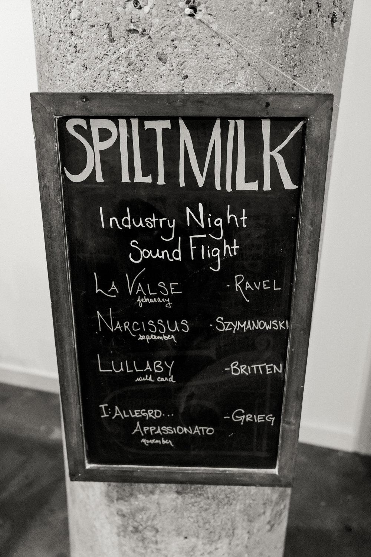 IndustryNight with Spilt Milk Tavern