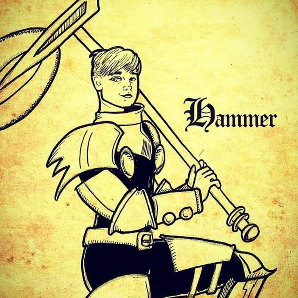 """""""Hammer"""" by Sean Archer"""