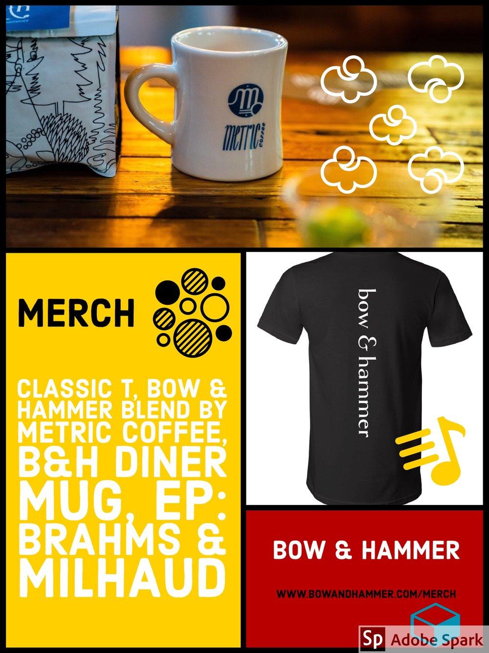 http://www.bowandhammer.com/merch