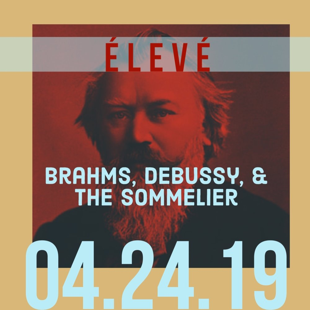Works by Debussy, Falla, and Brahms