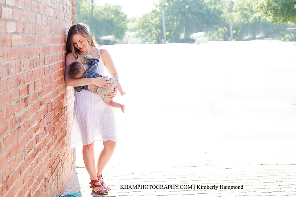 DFW Breastfeeding photography