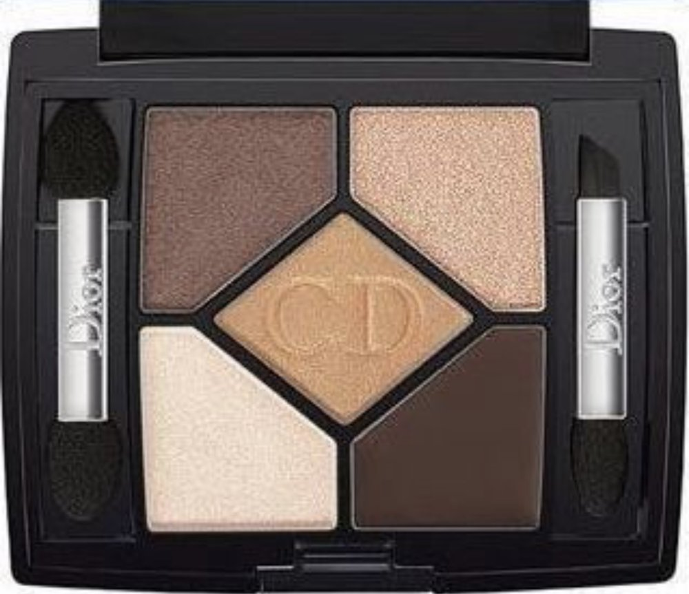 "- Dior Designer Eye Palette 708 ""Amber Design"" - press the shimmery top right shade with your finger for extra sparkle"