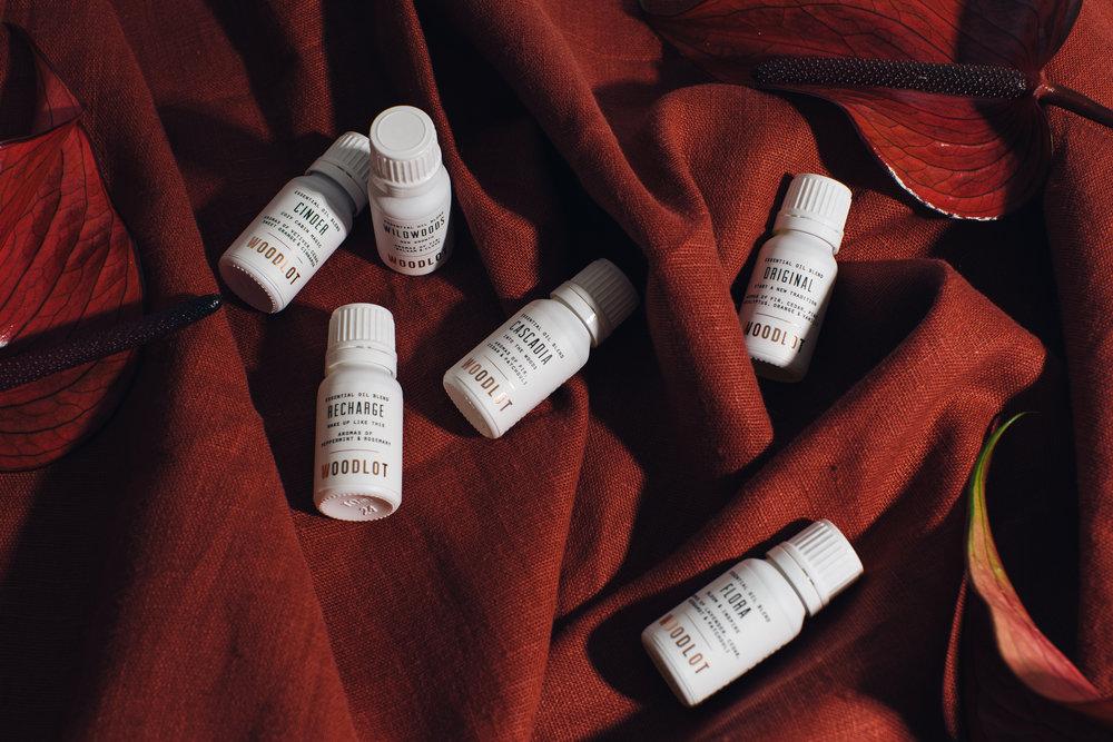 Client: Woodlot #ourwoodlot campaign: Essential Oils