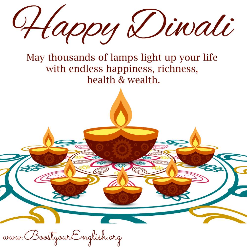 Happy Diwali — Boost your English