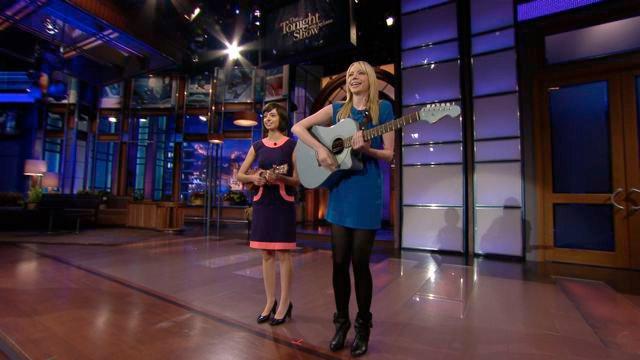"Performing ""Self Esteem"" on Leno 5/18/2010"